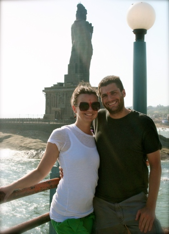 Mark & Lauren, Kanyakumari 2012