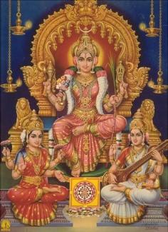 Lalita Sahasranamam Stotram Goddess Tripurasundari