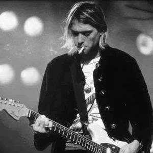 """If my eyes could show my soul,everyone would cry when they saw me smile."" - Kurt Cobain"